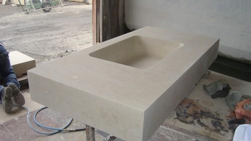 Lavello bagno in pietra design casa creativa e mobili - Lavabi bagno in pietra ...